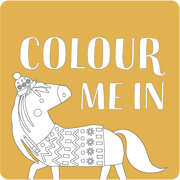 Croft and Craft Festival - Colour In Ponies