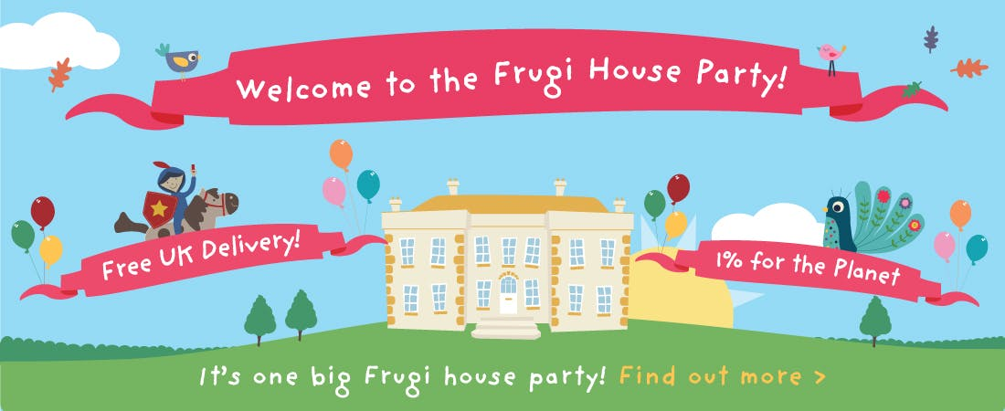 It's a Frugi house party!