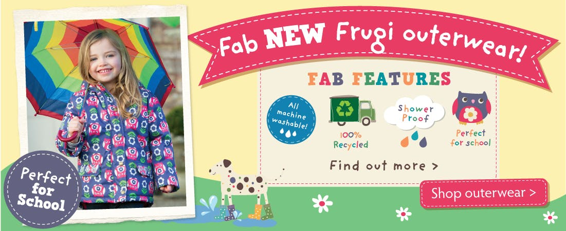 NEW Frugi Outerwear!