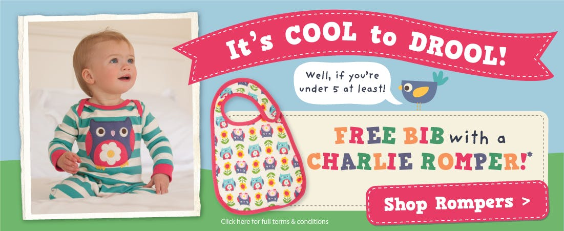 FREE Bib With Romper!