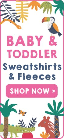 Baby Sweatshirts & Fleeces