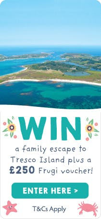WIN a family escape to Tresco Island plus a £250 Frugi voucher!