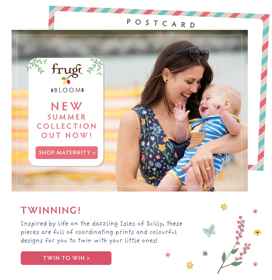 ed08773bd84be Maternity Clothes: Organic Cotton Maternity Wear | Frugi