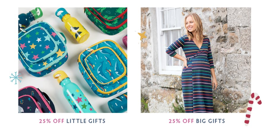 Shop 25% off little and big gifts under the tree