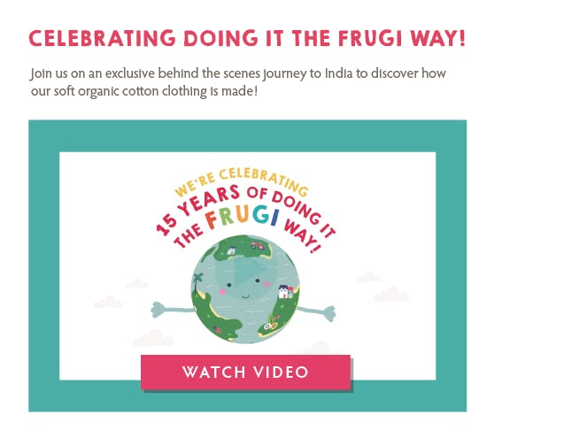Celebrating doing it the Frugi way!