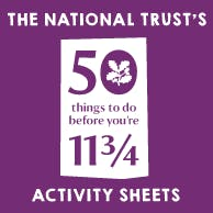 National Trust Activity Sheets