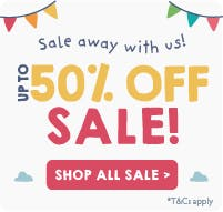 Up to 50% off sale! Shop all sale