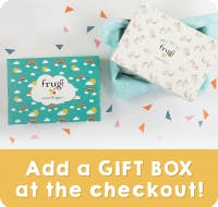 Add a gift box at the checkout!