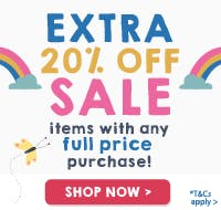 To celebrate Organic September, here's an extra 20% off sale with any full price purchase!