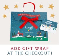 Add gift wrap at the checkout!