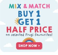 Mix & Match buy one and get one half price!
