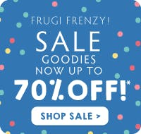 Frugi Frenzy! Sale goodies now up to 70% off! Shop sale