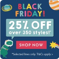 BLACK FRIDAY 25% OFF!