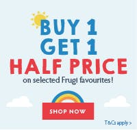 Buy 1 get 1 half price on selected Frugi Favourites!*
