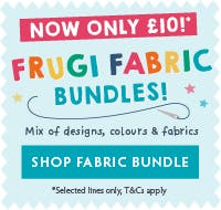 Frugi Fabric Bundles NOW JUST £10!