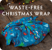 Try waste-free wrapping this Christmas! Shop Furoshiki Wrap now