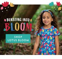 Bursting into Bloom! Shop our Lotus Bloom collection now