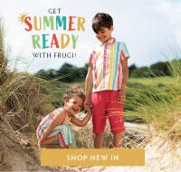 Get summer ready with Frugi! Shop our new in collection now