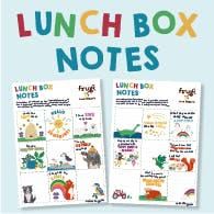 NEW Lunch Box Notes