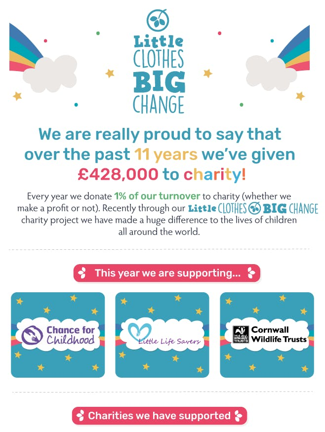 Our charity projects