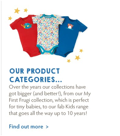 Our product categories