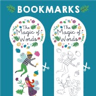 Magic of Words Bookmarks