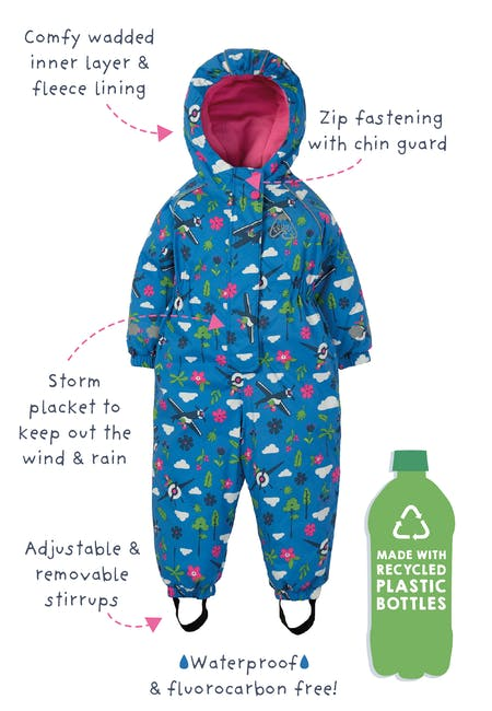 Buy Waterproof All In One: Made From Recycled Plastic | Frugi