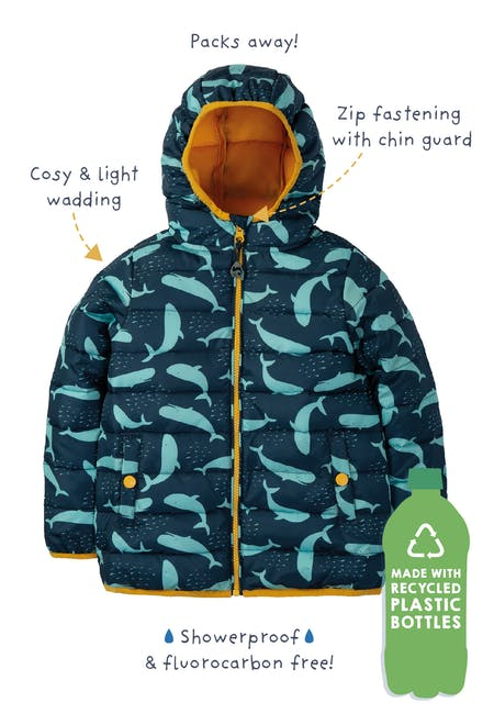 Buy Toasty Trail Jacket: 100% Recycled Plastic| Frugi