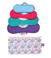 Bloomers Reusable Sanitary Pads Trial Kit