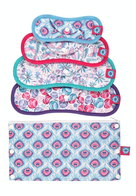 Nora Reusable Sanitary Pads Trial Kit