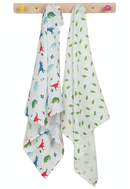 Buy Lovely 2 Pack Muslin: 100% Organic Cotton | Frugi