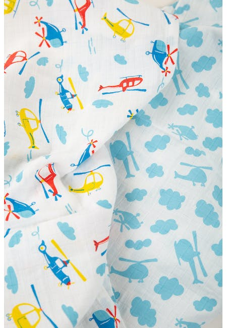 Buy Lovely 2 Pack Muslin: Made From Organic Cotton | Frugi