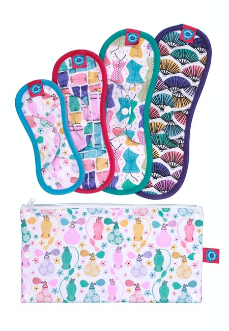 Bloom & Nora Reusable Sanitary Pads - Bloomers Trial Kit