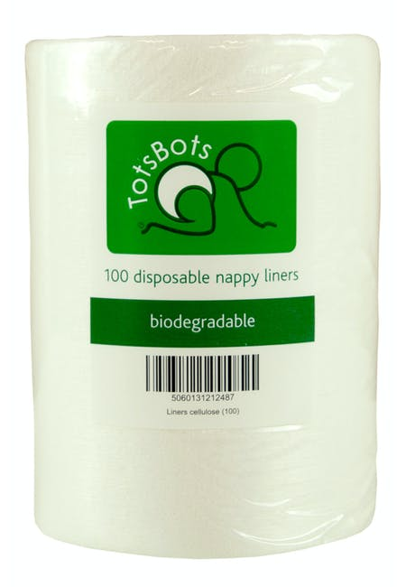 TotsBots Biodegradable Nappy Liners - Roll of 100