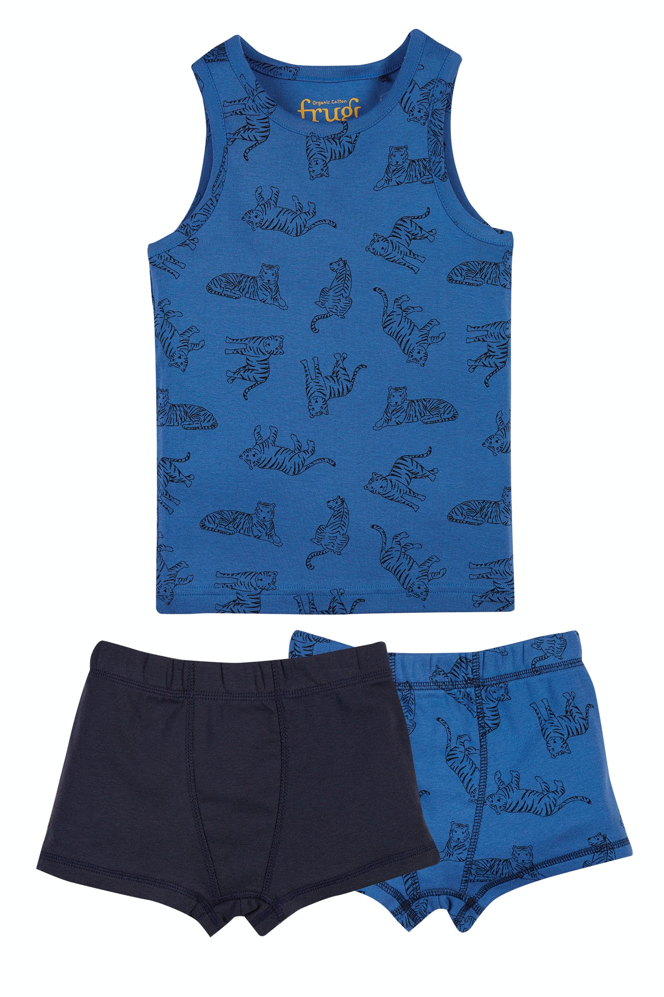 Click to view product details and reviews for Vest And Boxer 3 Piece Set.