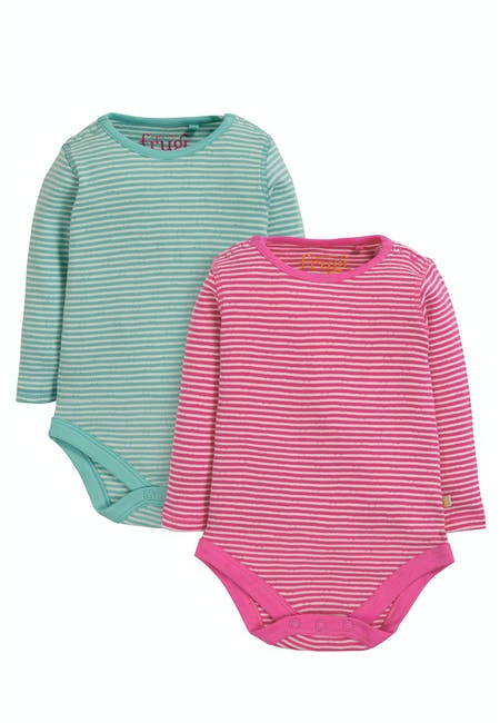 Buy Pointelle 2 Pack Body: Made From Organic Cotton | Frugi