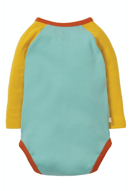 Buy Rowan Raglan Body: 100% Organic Cotton Interlock | Frugi