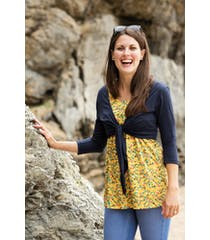 Top And Tie Cardi