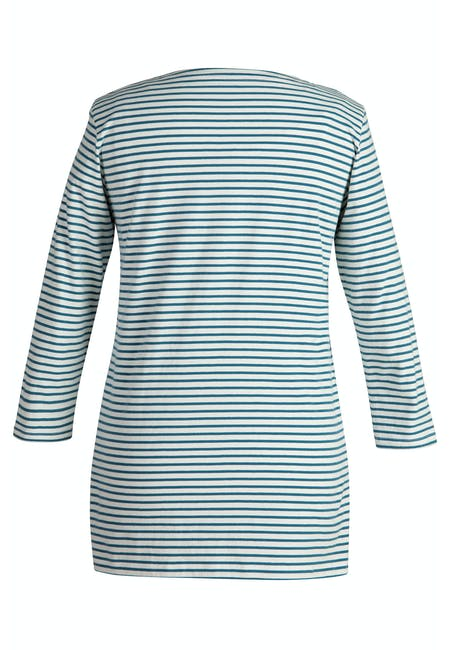 Nautical Boatneck Top