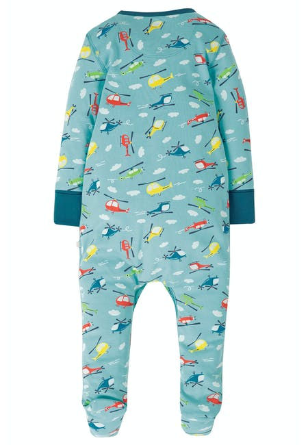 Buy Lovely Babygrow: Organic Cotton Interlock | Frugi
