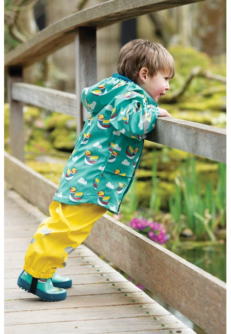 Puddle Buster Trousers: Made From Recycled Polyester | Frugi