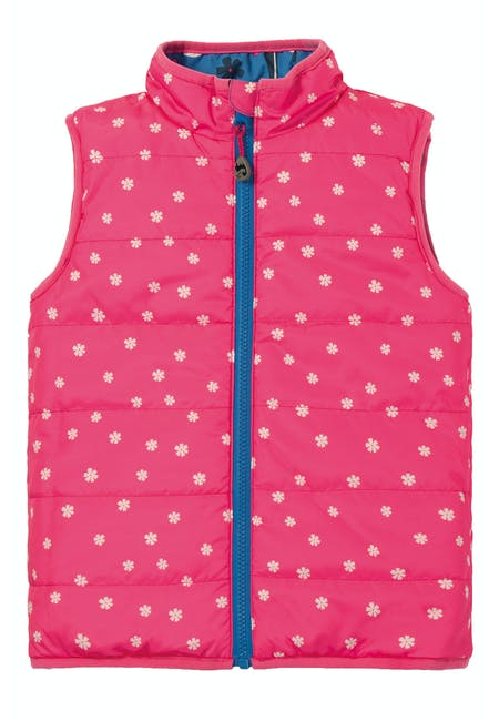 Buy Explorer Gilet: Made from 100% Recycled Polyester| Frugi