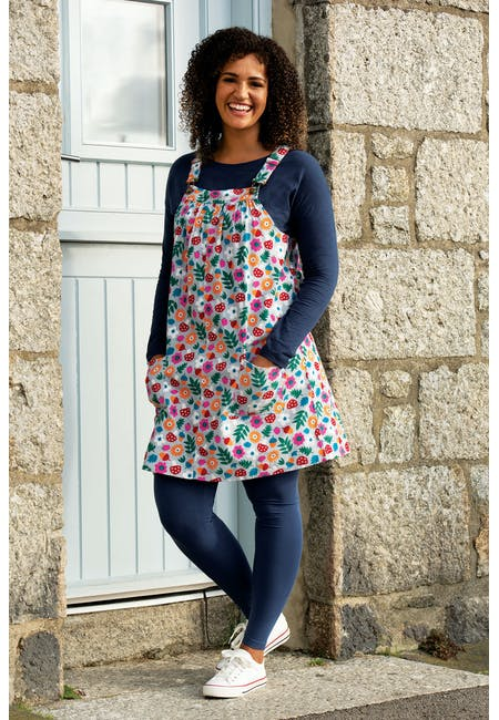 Berry Cord Pinafore