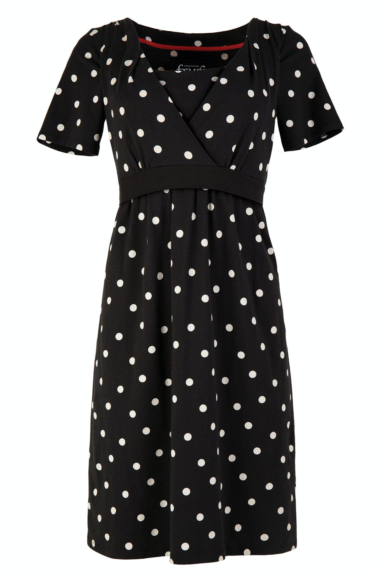 Click to view product details and reviews for Delphine Tie Dress.