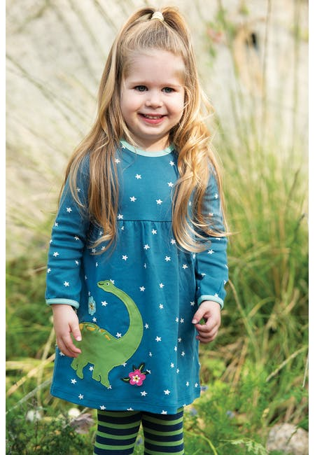 Buy Dolcie Dress: Made From 100% Organic Cotton | Frugi