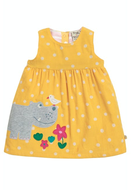 Buy Lily Cord Dress: Made From Organic Cotton Cord | Frugi