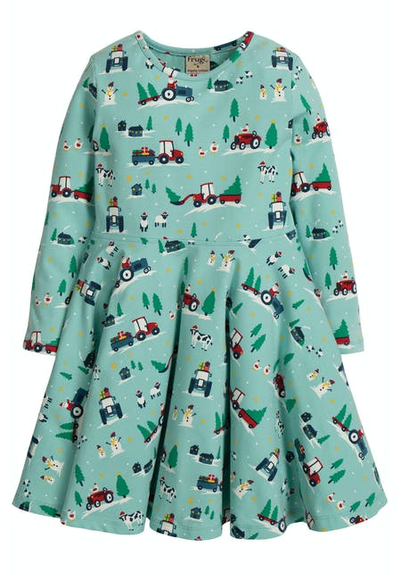Buy Sofia Skater Dress: Made From Organic Cotton | Frugi