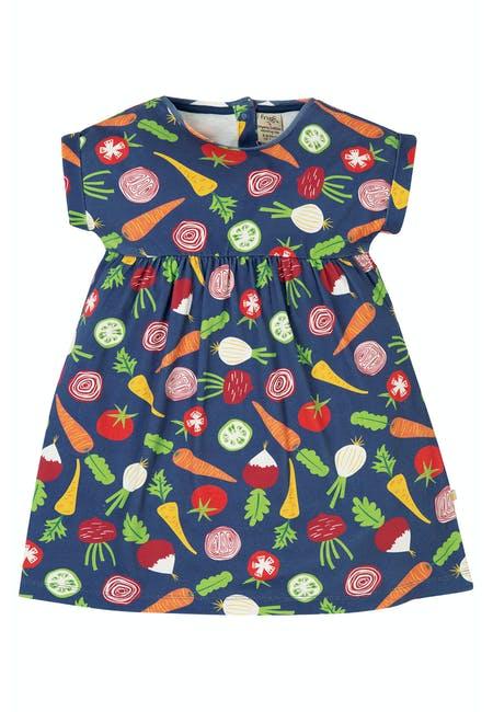 Buy Felicity Dress: Organic Cotton Interlock | Frugi