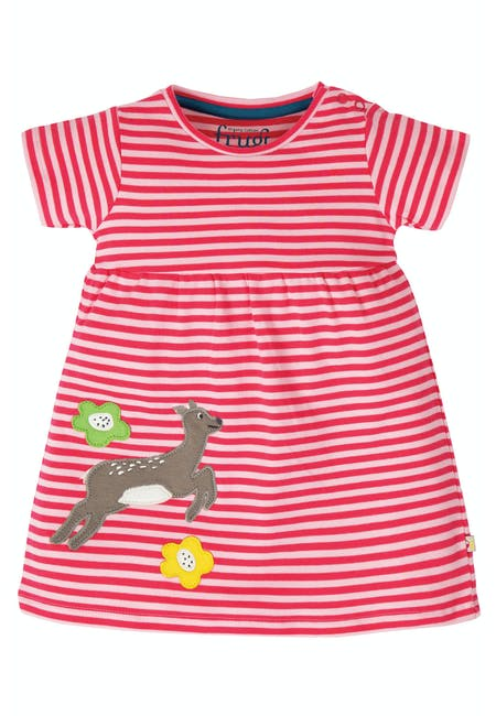 Buy Jade Jersey Dress: Made From 100% Organic Cotton | Frugi