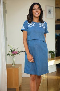 Camilla Maternity & Nursing Dress